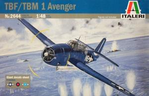 ITALERI 1/48 2644 TBF/TBM-1 AVENGER