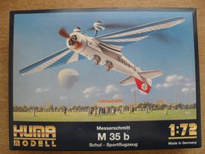 HUMA 1/72 2000 MESSERSCHMITT Me 35b
