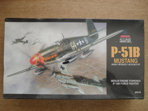 ACCURATE MINIATURES 1/48 3418 P-51B MUSTANG