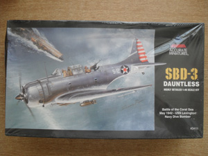 ACCURATE MINIATURES 1/48 3411 SBD-3 DAUNTLESS