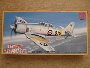 PM 1/72 212 HAWKER SEA FURY T-20