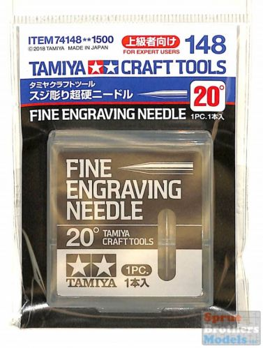 TAMIYA  74148 FINE ENGRAVING NEEDLE