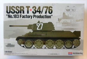 Thumbnail 13505 USSR T-34/76 No 183 FACTORY PRODUCTION