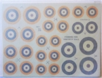 Thumbnail 665. 102 BRITISH ROUNDELS 1938-1947 LARGE TYPES A   A1