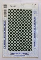 Thumbnail 1495. CHECKERS QUARTER INCH WIDE BLACK
