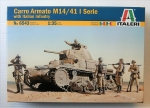 Thumbnail 6543 CARRO ARMATO M14/41 I SERIE WITH ITALIAN INFANTRY