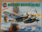 Thumbnail 61019 WESTLAND WHIRLWIND FIGHTER Mk.I  OLD TOOL