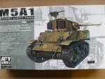 Thumbnail 35105 M5A1 STUART EARLY PRODUCTION