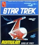 Thumbnail 665 STAR TREK ROMULAN BIRD-OF-PREY 1/650