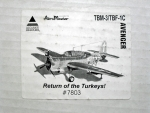 Thumbnail 7803 TBM-3/TBF-1C AVENGER RETURN OF THE TURKEYS