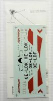 Thumbnail 1702. FOWLER DECALS 005 - AUSTRIAN AIRLINES DC-9