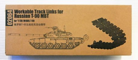Thumbnail 02064 WORKABLE TRACK LINKS FOR RUSSIAN T-90 MBT