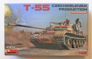 Thumbnail 37074 T-55 CZECHOSLOVAK PRODUCTION