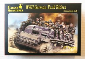 Thumbnail H099 WWII GERMAN TANK RIDERS  CAMOUFLAGE SUIT
