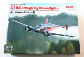 Thumbnail 48186 BEECH C18S MAGIC BY MOONLIGHT AIRSHOW AIRCRAFT