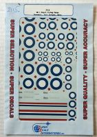 Thumbnail 2115. 72-6 WW I ROYAL FLYING CORPS ROUNDELS/TAIL STRIPES/DATA