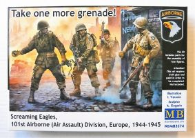 Thumbnail 3574 SCREAMING EAGLES 101st AIRBORNE  AIR ASSAULT  DIVISION EUROPE 1944-1945
