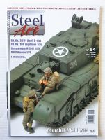 Thumbnail ZB2419 MODELLISMO STEEL ART No 64 APRIL 2009  ITALIAN TEXT
