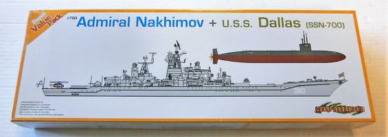 Thumbnail 7112 ADMIRAL NAKHIMOV AND U.S.S. DALLAS  SSN-700