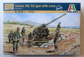 6122 ITALIAN 90/53 GUN   CREW