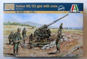 6122 ITALIAN 90/53 GUN   CREW