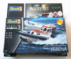 Thumbnail 65228 SEARCH   RESCUE DAUGHTER-BOAT VERENA MODEL SET