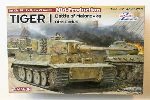 Thumbnail 6888 TIGER I MID PRODUCTION WITH ZIMMERIT BATTLE OF MALONOVKA OTTO CARIUS