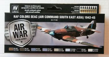 Thumbnail 71146 RAF COLORS SEAC AIR COMMAND SOUTH EAST ASIA 1942-45