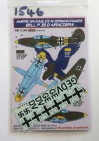 Thumbnail 1546. 72.244 AMERICAN EAGLES IN GERMAN HANDS BELL P-39D AIRACOBRA