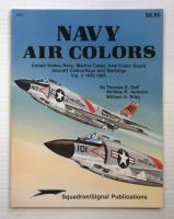 Thumbnail ZB890 SQUADRON/SIGNAL 6157 NAVY AIR COLORS AIRCRAFT CAMOUFLAGE AND MARKINGS VOL 2 1945 -1985