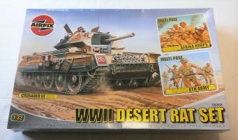 Thumbnail 08366 DESERT RATS SET CRUSADER/8th ARMY AFK FIGURES