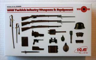 Thumbnail 35699 WWI TURKISH INFANTRY WEAPONS AND EQUIPMENT