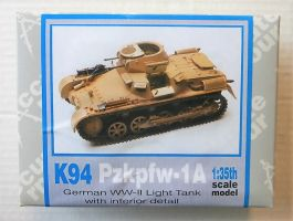 Thumbnail K94 PZKPFW-1A GERMAN WWII LIGHT TANK