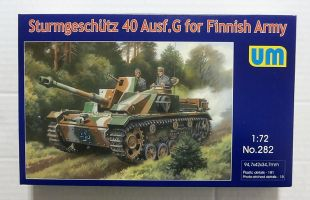 Thumbnail 282 STURMGESCHUTZ 40 Ausf.g FOR FINNISH ARMY