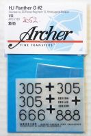 Thumbnail 2052. ARCHER FINE TRANSFERS AR35189 HJ PANTHER G No 2