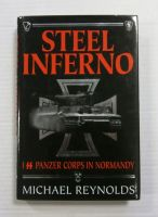 Thumbnail ZB1181 STEEL INFERNO 1ST SS PANZER CORPS IN NORMANDY MICHAEL REYNOLDS