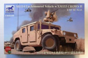 Thumbnail 35136 M1114 UP-ARMOURED VEHICLE W/ XM153 CROWS II