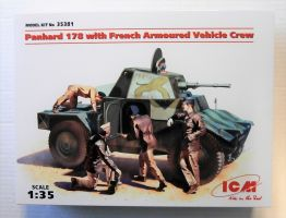 Thumbnail 35381 PANHARD 178 WITH FRENCH ARMOURED VEHICLE CREW
