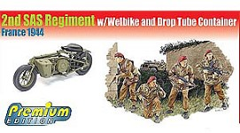 Thumbnail 6586 2nd SAS REGIMENT w/WELBIKE   DROP TUBE CONTAINER