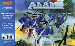 Thumbnail 717 MEXICAN ROUND TOP INFANTRY
