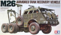 Thumbnail 35244 M26 ARMOURED TANK RECOVERY VEHICLE