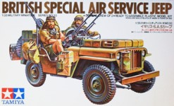 Thumbnail 35033 BRITISH SPECIAL AIR SERVICE JEEP