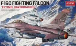 Thumbnail 12204 F-16C FIGHTING FALCON FLYING RAZORBACKS