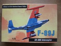 Thumbnail 1377 F-89J US ANG INTERCEPTOR