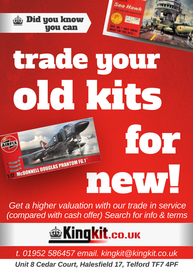 Trade in your old kits for new kits
